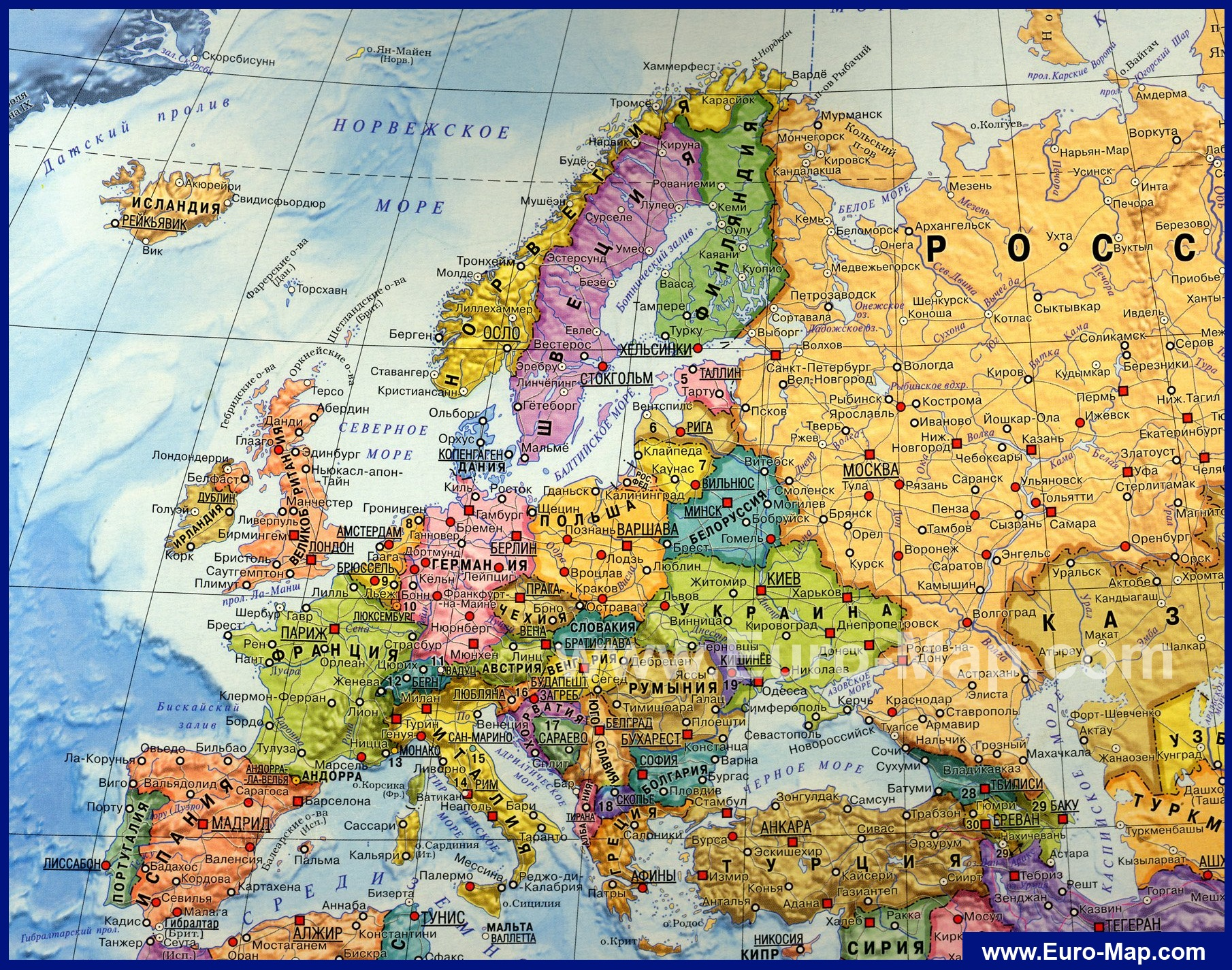 podrobnaya-karta-evropy-na-russkom-yazike